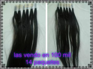 extenciones de cabello natural