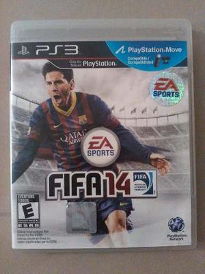 Juego Fifa 14 Ps3 Original Fisico Blueray