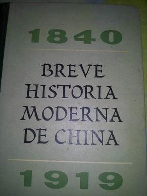 Libro Usado Breve Historia Moderna De China