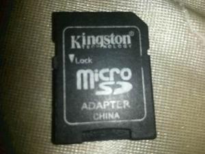 Adaptador De Memoria Micro Sd
