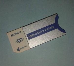 Adaptador Memory Stick Sony