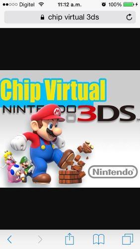 Chip Virtual Para Nintendo 2ds,3ds,3ds Xl,new 3ds