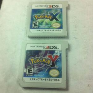 Combo Juego Original 3ds Pokemon Y Y Pokemon X