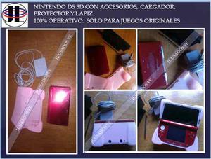 Consola De Juegos Nintendo 3ds Solo Juegos Originales