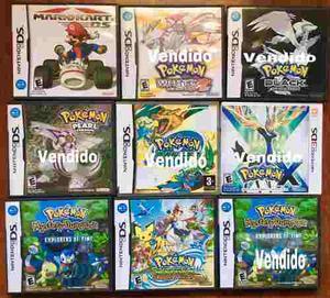 Estuches Originales Para Juegos De Nintendo Ds Y 3ds