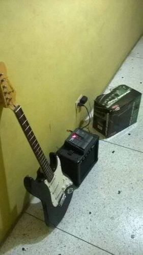 Guitarra Electrica Combo Dia Del Niño