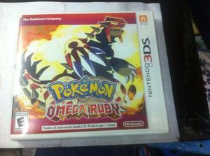 Juego Original 3ds Pokemon Omega Ruby