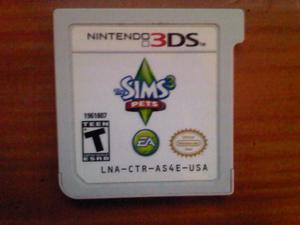 Los Sim 3 Para Nintendo 3ds (casi Nuevo)(poco Uso)