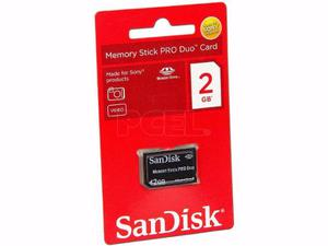 Memory Stick Pro Duo 2gb Made For Sony Products