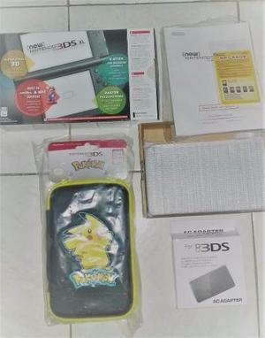 New Nintendo 3ds Xl Metallic Black 100% Nuevo A Estrenar