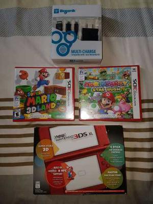 Nintendo 3ds Xl + 2 Juegos Nuevo