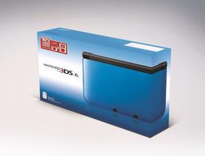 Nintendo 3ds Xl Azul Nuevo En Caja Con 8 Juego Tienda Fisica