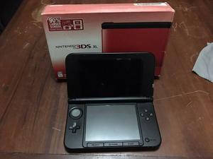 Nintendo 3ds Xl Rojo Como Nuevo En Su Caja