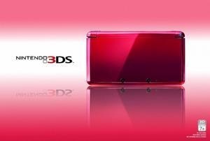 Nintendo Ds 3d Doble Cámara Con Wifi Rojo Y Rosado