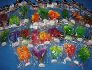 Plantas Artificiales Decorativas Para Acuarios 10 Cms