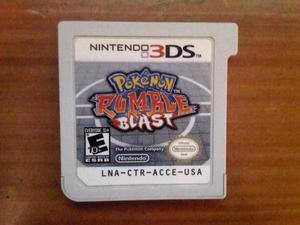Pokemon Rumble Blast Nintendo 3ds (casi Nuevo)(poco Uso)