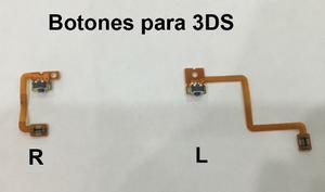 Repuesto Cable Flex Con Boton L O Boton R Original 3ds