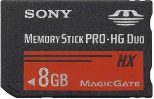 Sony Memory Stick Pro Duo De Alta Velocidad 8gb + Adaptador
