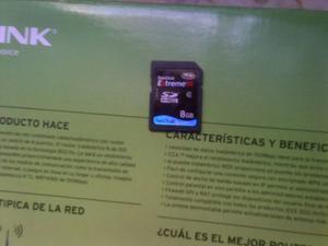 Tarjeta De Memoria Sdhc 8gb Class 6