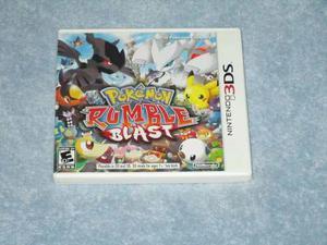 Vendo O Cambio Pokémon Rumble Blast Para Nintendo 3ds
