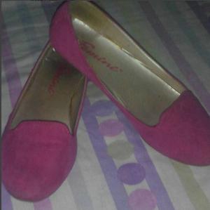 zapatillas fucsia femini