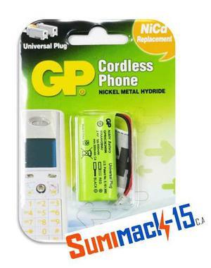Bateria Telefono Inalambrico T-504 Gp Aaa  Mah