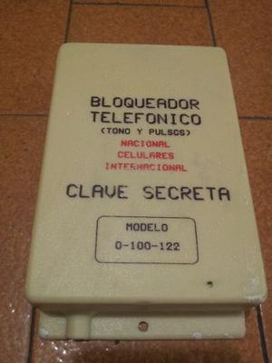 Bloqueador De Llamadas Telefonicas Programable Katronic
