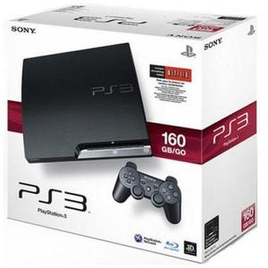 Playstation 3 Slim De 160Gb