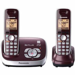 Telefono Inalambrico Panasonic Rojo De Largo Alcance 6.0 Dec