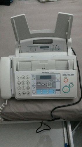 Teléfono Fax Panasonic Kx-fp701 Usado+ 1 Rollo Película
