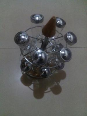 Condimenteros 11 Envases de Vidrio
