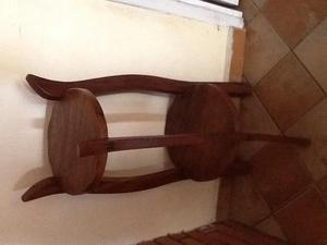 Mesa de madera posot class for Mesa esquinera madera