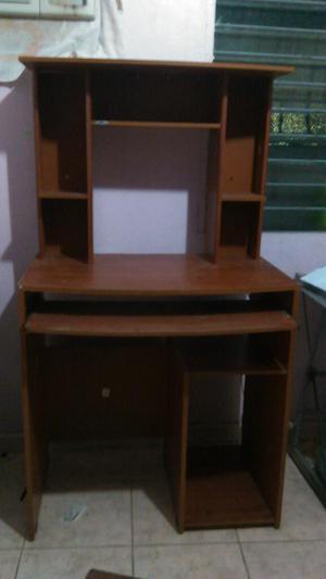 Mueble de madera para computadora e impresora | Posot Class - photo#16