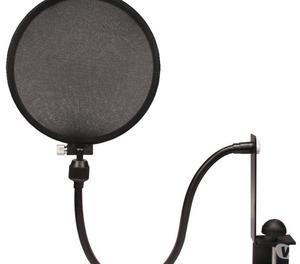 Antipop Para Microfono Estudio De Grabación Filtro Malla
