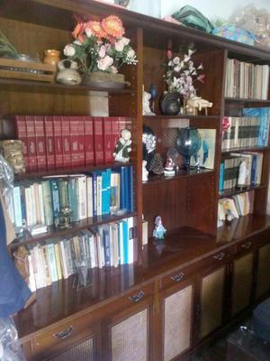 Bibliotecas son de 2 modelos posot class - Bibliotecas de madera ...