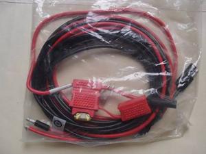 Cable De Alimentación Para Radio Movil Motorola (original)