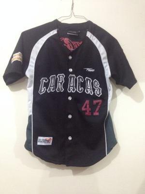Camisa Leones Del Caracas Original Talla S