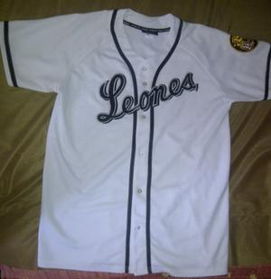 Camisa Original De Los Leones Del Caracas Talla Xl