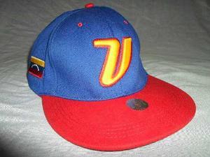 Gorra Azul Venezuela Beisbol Clasico Mundial  Ajustable