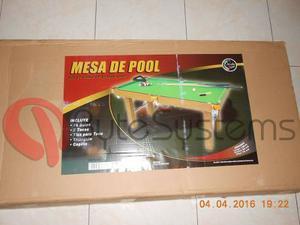 Mesa De Pool Jeidy Toys Modelo Grande