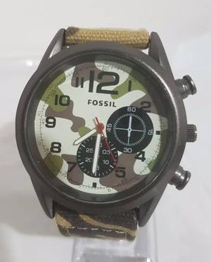 Relojes Diesel Correa De Cuero  Fossil Cat