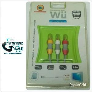 Cable De Audio Y Video Nintendo Wii - Tienda