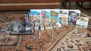 Consola Wii Con Skin De Super Mario + 7 Juegos Originales