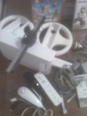 Consola Wii Con Todos Sus Accesorios