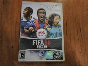 Fifa 08 Soccer Para Nintendo Wii & Wii U Totalmente Original