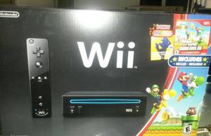 Nintendo Wii Consola 100% Nuevo+ 3 Juegos Originales