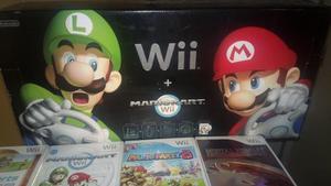 Nintendo Wii Consola Negra
