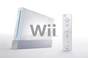 Nintendo Wii Control Rosado Accesorios, Juego De Regalo