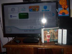 Nintendo Wii Incluye Incluye Solo 2 Controles. Chipeado