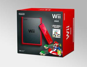 Nintendo Wii Mini Rojo O Cambio Por Iphone